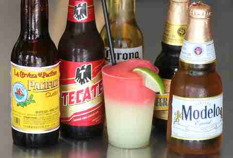 Beers and Margaritas at Huahua's Taqueria
