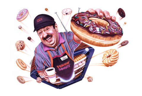 Dunkin' Donuts Fred the Baker