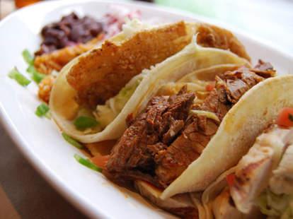 Tacos at Pozolé