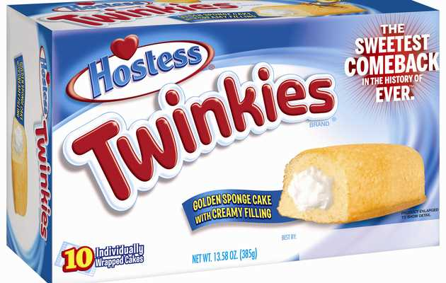 Twinkies are back. TWINKIES. ARE. BACK.