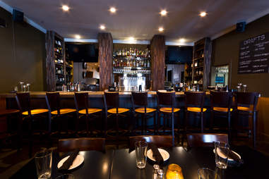 Henry's interior bar