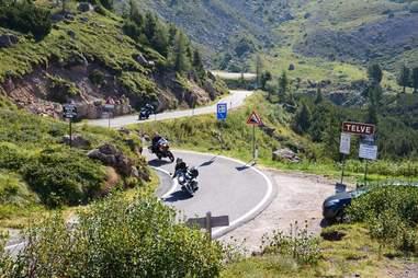 Ducati Trip Mountain Pass