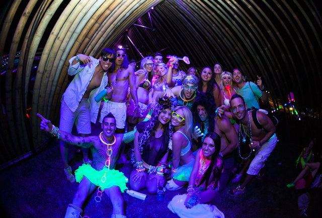 Gigantic laser boomboxes, hot girls dressed as bees, and further madness from Electric Daisy Carnival