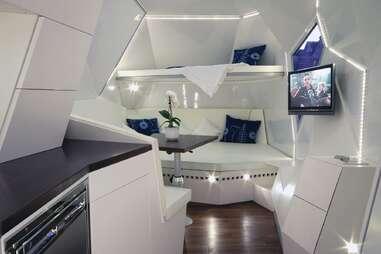 Mehrzeller caravan interior