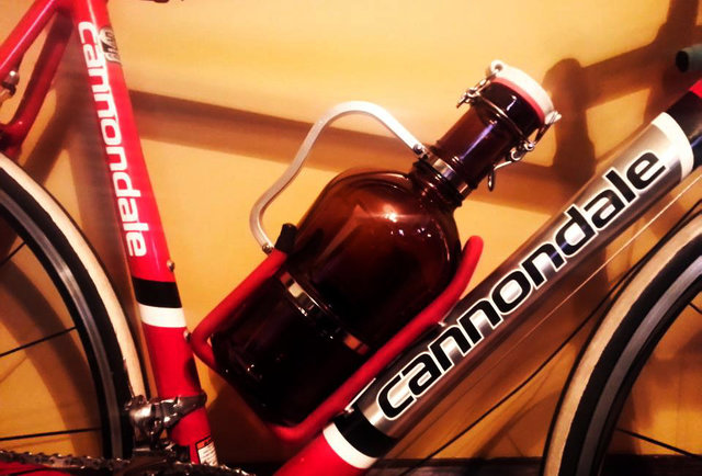 Take your beer on a bike ride