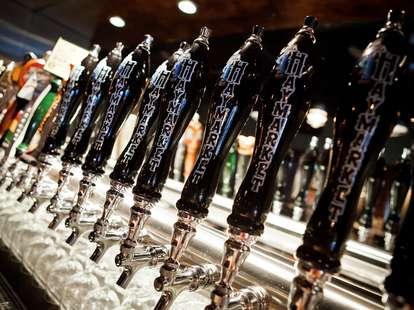 Haymarket Brewing taps