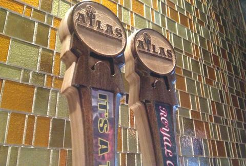 Taps at Atlas Brewing Company in Chicago