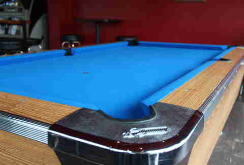 Pool table at The Willows