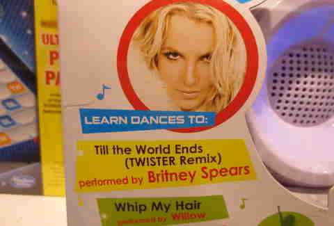 Twister and Britney Spears