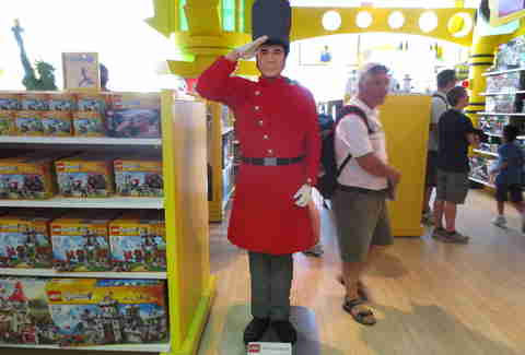 LEGO Buckingham Palace guard