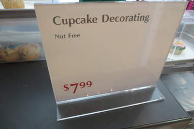 Cupcakes without nuts