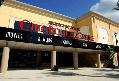Frank Theaters Cinebowl & Grille.