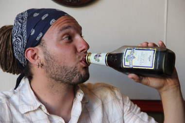 Manischewitz drinking