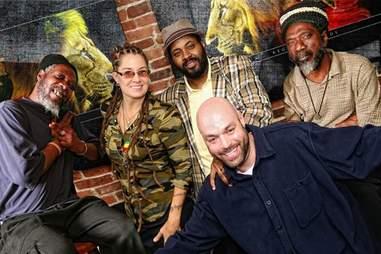 Hot Like Fire reggae band