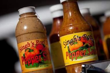 Singh's Roti Hot Sauce