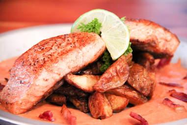 Salmon at Waldron Lodge, Dallas TX