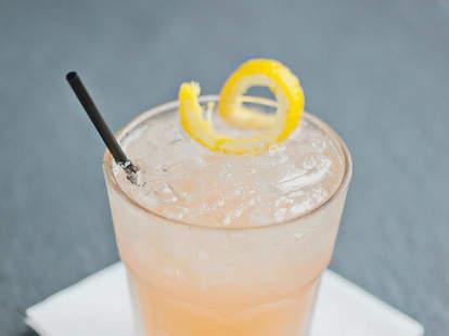 Bombay Gin, Champagne, Blood Orange Liquor
