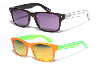 two different made eyewear styles