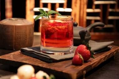 Hutong at the shard cocktail