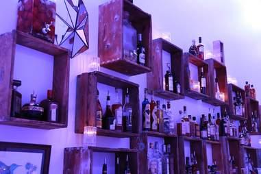 The bar at Lightbar.