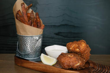 Capitol Cider Fish & Chips