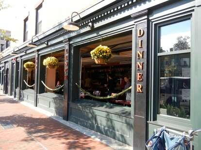 Exterior of Parish Cafe and Bar
