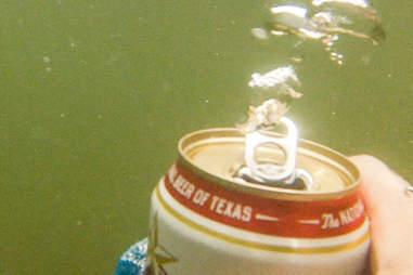 Lone Star underwater