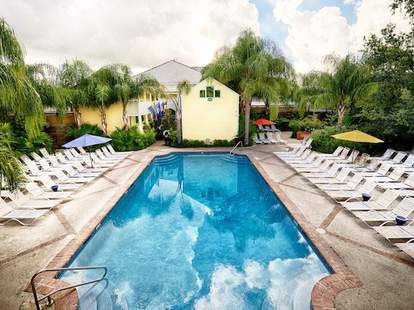 Pool at The Country Club in New Orleans