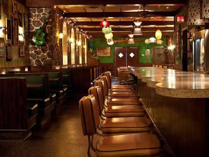 Interior at El Rey