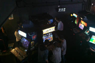 arcade at Ground Kontrol