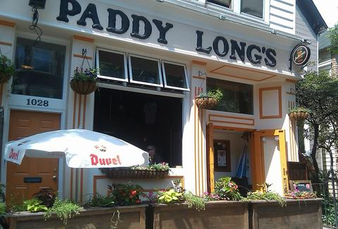Exterior of Paddy Long's
