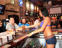 Happy Customers at Bikinis Bar & Grill