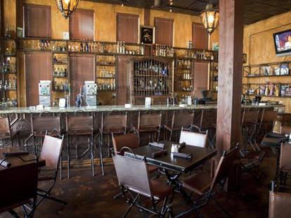 Interior & Bar at Agave Azul