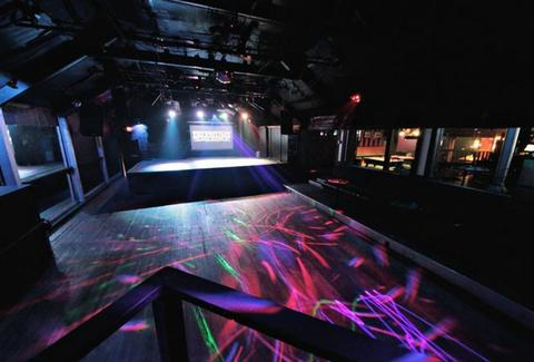 The dance area at Elysium
