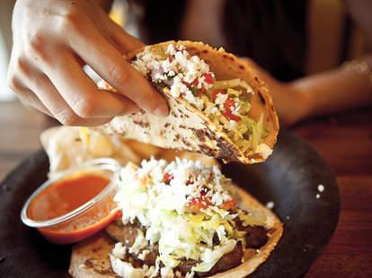 Tacos at Tinga