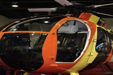 Fly in the Magnum PI helicopter in Oahu