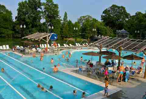 Aquatic Center Piedmont Park