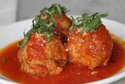 Meatballs at Motorino