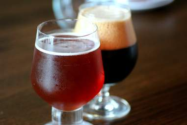 Aged beers at Barley and Swine
