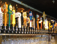 Beer Taps at Sunset Grill & Tap