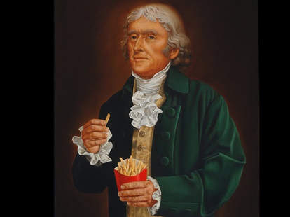 Thomas Jefferson French Fries