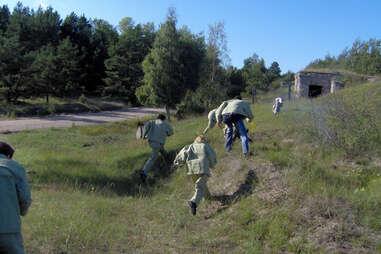 Haunted Naval Port Prison in Latvia