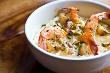 Hop Alley Brew Pub shrimp and grits