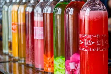 Hop Alley Brew Pub vodka infusions