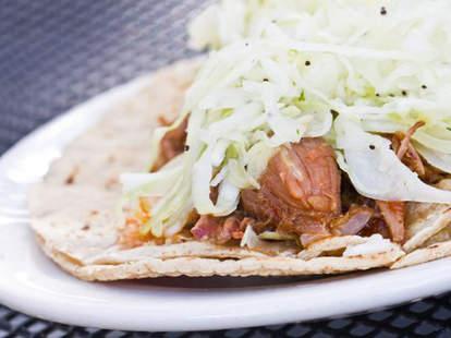 Pork Shoulder Taco at Holy Taco