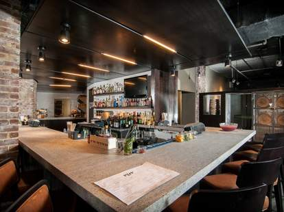The bar at Proof & Provision