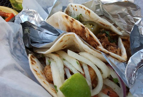 Tacos at Tijuana Garage