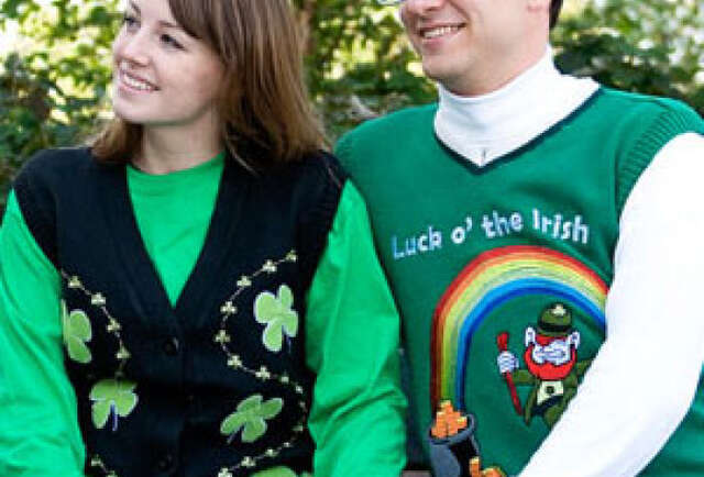 Get Lit for St. Patrick\'s w/ a Novelty Sweater
