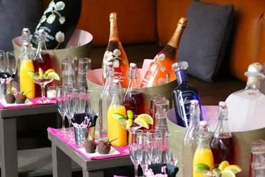 Sienna Bottle Tables
