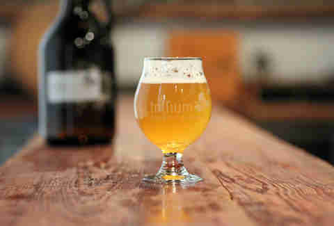 Beer from Trillium Brewing Company